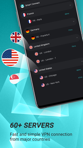 Hot VPN - Free, Fast & Super VPN Proxy modavailable screenshots 3