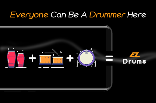 Easy Real Drums-Real Rock and jazz Drum music game 1.3.5 Screenshots 8