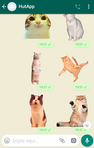 Best Cat Stickers for Chat WAStickerApps 1.9 Screenshots 5