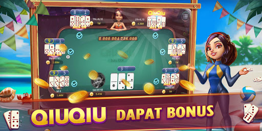 Domino Gaple QiuQiu 99 Catur Poker Online Gratis 1.2.9.0 screenshots 2