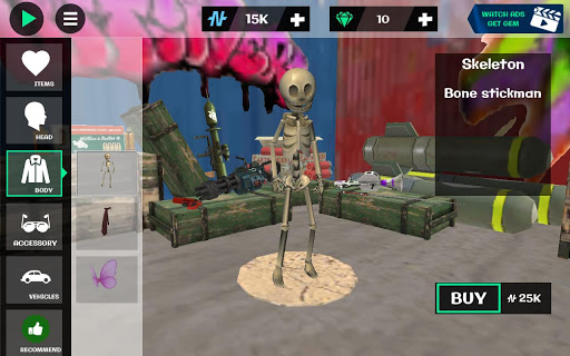 Stickman Rope Hero 2  screenshots 1