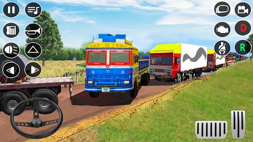 Indian Truck Modern Driver: Cargo Driving Games 3D apktram screenshots 4