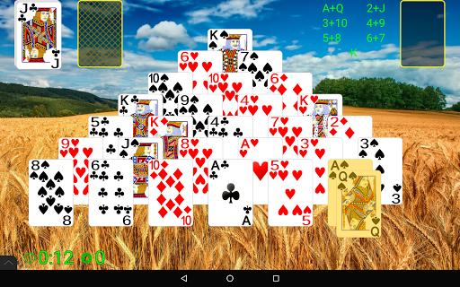 Pyramid Solitaire  screenshots 9