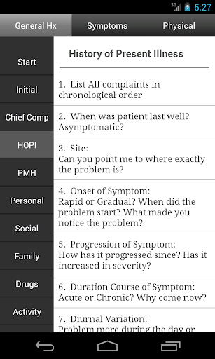 Clinicals u2013 History & Physical  screenshots 1