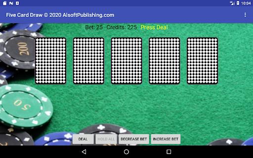 Five Card Draw Poker  screenshots 17