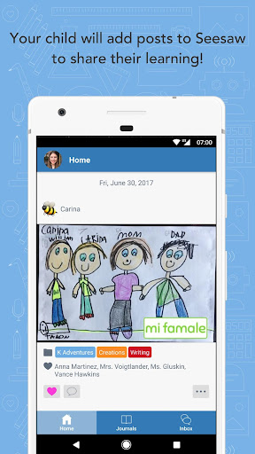 seesaw parent & family screenshot 1