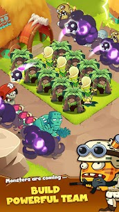 Zombie Defense – Plants War – Merge idle games Mod Apk (Unlimited Diamonds) 6