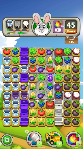 Farm Raid : Cartoon Match 3 Puzzle  screenshots 7