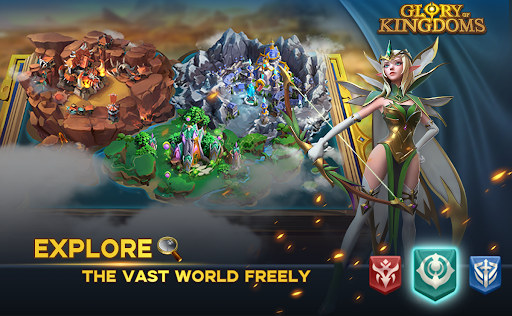 Glory of Kingdoms apkpoly screenshots 2