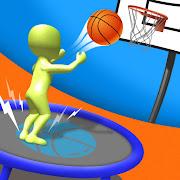 Jump Up 3D: Jump Dunk - Trampoline Basketball game