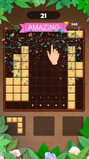 Wood Block Puzzle: Reversed Tetris & Block Puzzle android2mod screenshots 3
