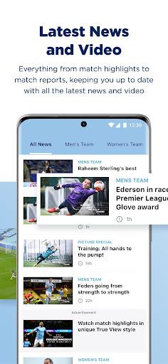 manchester city official app screenshot 3