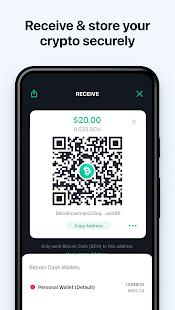 Bitcoin Wallet: buy BTC, BCH & ETH 7.2.6 Screenshots 6