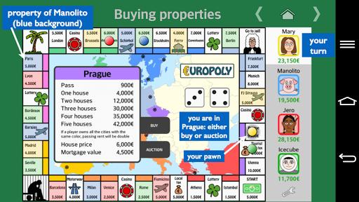 Europoly screenshots 4