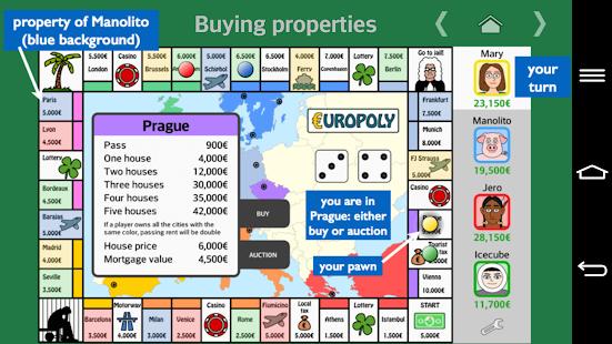 Europoly 1.2.4 Screenshots 4