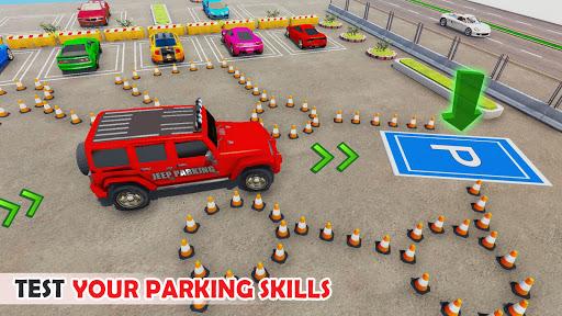 Airplane Car Parking Game: Prado Car Driving Games 2.0 screenshots 8
