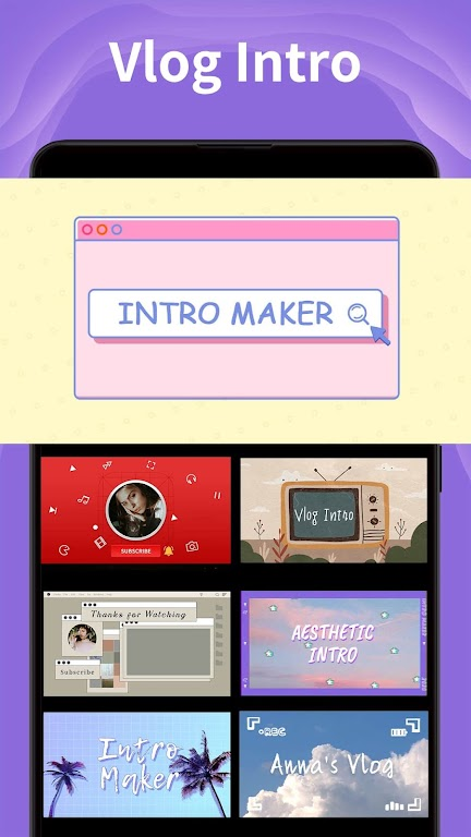 Intro Maker - music intro video editor  poster 5