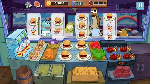 Télécharger Bob l'éponge : Cuisine en Folie mod apk screenshots 1