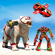 Polar Bear Robot Transform: Flying Car robot games APK