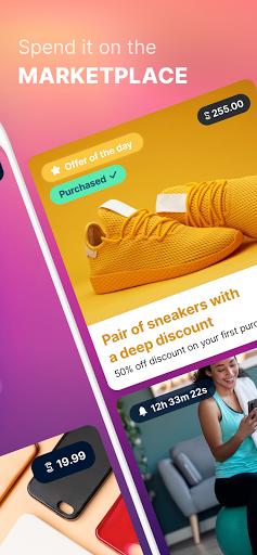 Sweatcoin u2014 Walking step counter & tracker  Screenshots 3