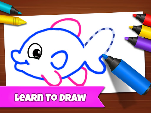 Drawing Games: Draw & Color For Kids  screenshots 11