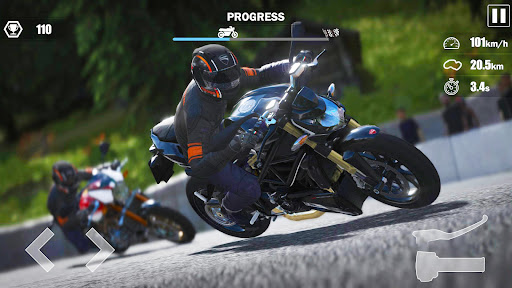 Street Moto: Speed Race screenshots 14