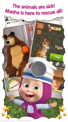 Masha and the Bear: Free Animal Games for Kids 4.0.5 screenshots 2