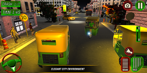 Tuk Tuk Auto Rickshaw Driver 2019:City Parking 1.5 screenshots 6