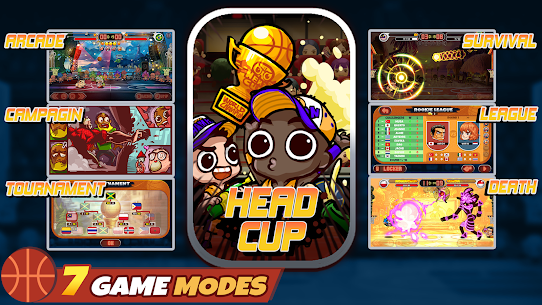 Head Basketball MOD APK (Unlimited Money) 4
