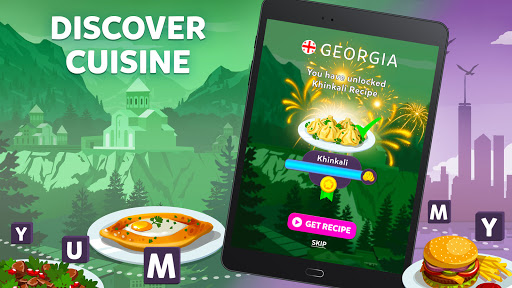 Wordelicious - Play Word Search Food Puzzle Game  screenshots 8