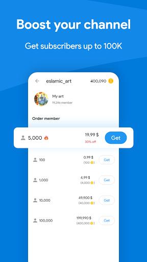 Membersgram - Boost Channel and group members  screenshots 1