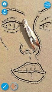 Sand Draw sketchbook  Creative Drawing Art Pad App Apk 4
