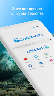 OceanHero - Search the web and save the oceans