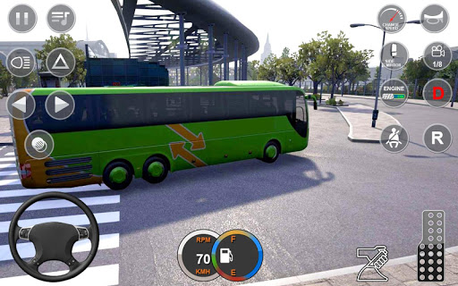 Euro Bus Driving Simulator : Bus Simulator 2020 android2mod screenshots 5