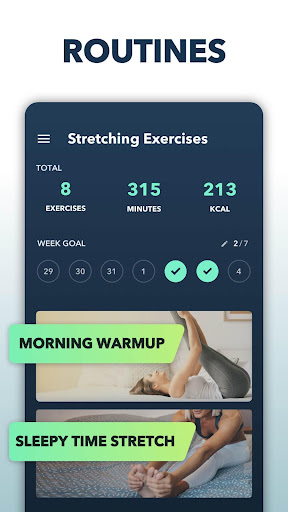 Stretching Exercises at Home -Flexibility Training 1.1.5 Screenshots 2