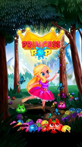 Bubble Shooter - Princess Pop  screenshots 1