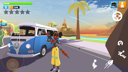 Rage City - Open World Driving And Shooting Game Apkfinish screenshots 16