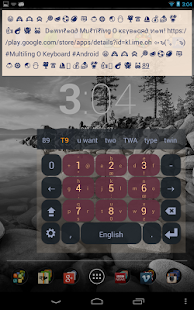 English Keyboard Plugin