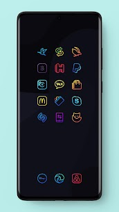 Caelus Icon Pack – Colorful Linear Icons (MOD, Paid) v3.3 5
