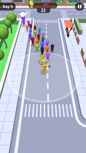 Move.io: Move Stop Move - Stickman Crowd 3D apklade screenshots 2