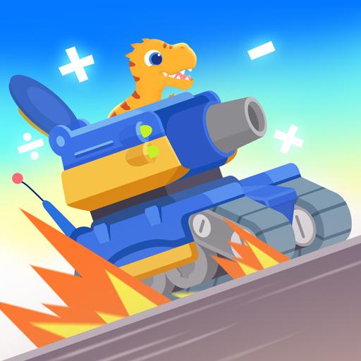 Dinosaurus Matematika - Game untuk anak-anak