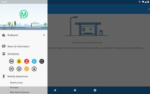 menetrend.app u2013 Public Transit in Hungary 3.3.0.9325 Screenshots 4