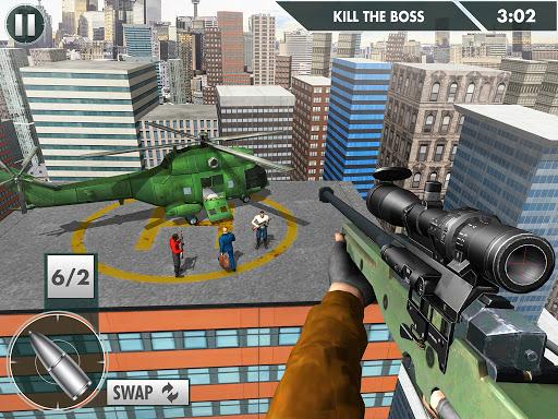 City Sniper Shooter Mission: Sniper Games Offline 1.3 screenshots 9