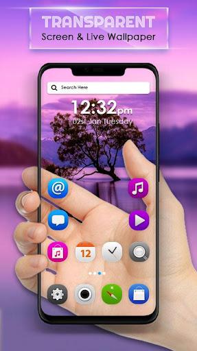 Transparent Screen & Live Wallpaper  screenshots 1