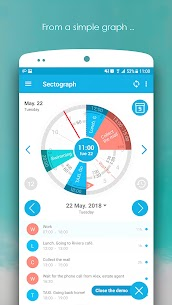 Sectograph. Planner & Time manager on clock widget (PRO) 5.19.7 Apk 3