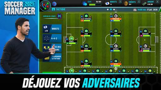 Soccer Manager 2021 - Jeu de Gestion de Football APK MOD (Astuce) screenshots 5
