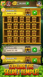 Gem & Jewel Temple: Block Crush Blast Puzzle Games