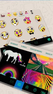 Messenger Chat Sms Keyboard Theme 4