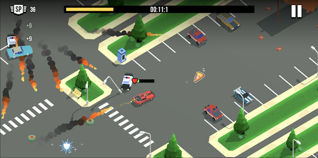 Image For Smash racing: drive from cops, make an epic crash! Versi 6.7.7 5