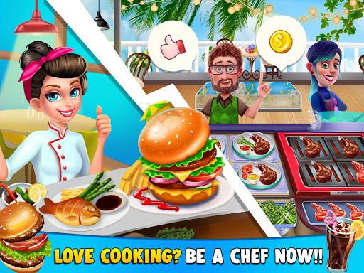 Télécharger gratuit La vie de la cuisine: Jeux de cuisine du chef APK MOD 2